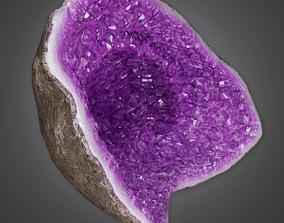 3D asset Rock Geode - CLA - PBR Game Ready