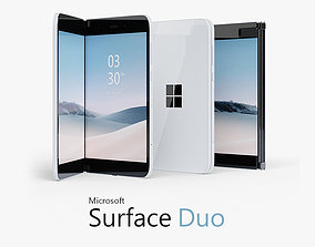 Surface Duo 3D model