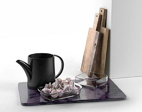 3D model Kitchen Composition with Teapot