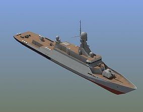 3D model BuyanM Warship