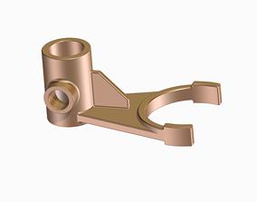 3D print model Automobile Gear Shifter Fork - KIDS