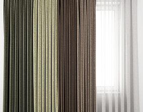 Curtain 64 3D model