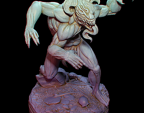 3D print model The Rampaging Demon