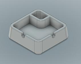 Ashtray 3D print model interior