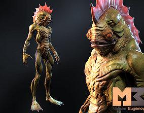 3D model Monster Underwater 04