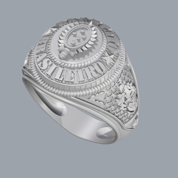 Ring military 3D file