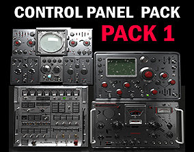 3D Control panel pack 1