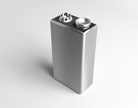Battery 9V Cell 3D model