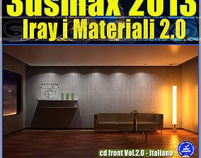 3ds max 2013 Iray Materiali Italiano cd front Vol 2 cd 1
