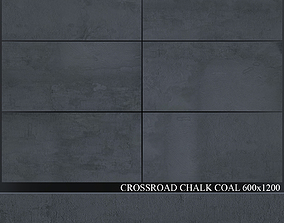 3D model ABK Crossroad Chalk Coal 600x1200