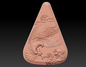 Pendant of eagle 3D printable model