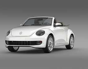 3D model VW I Beetle Cabrio 2015