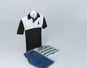 Polo clothing 3D model