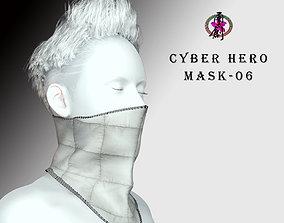 3D model Cyber Hero - Mask06