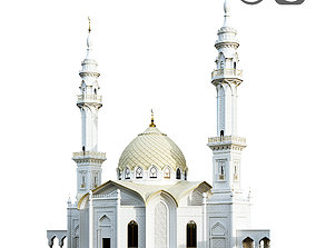 The White Mosque 3D