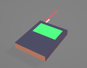Wide Controller 3D model