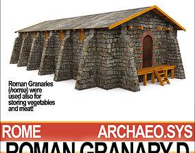 3D Roman Granary D
