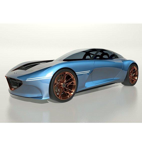 Genesis Essentia Concept Car