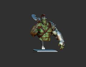 super 3D printable model hulk bust