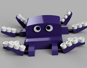home Octopus smartphone stand 3D print model