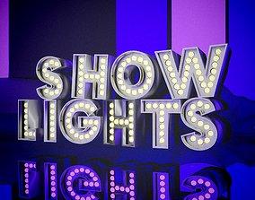 3D model Show Lights