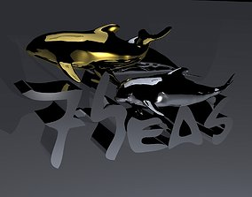 3D printable model Orca-School