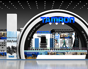 3D model 12X16Mtr Exhibition Stand