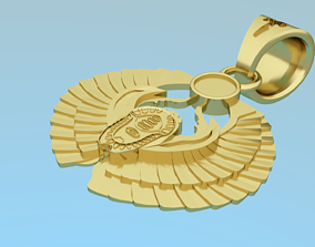 Pendant - scarab 3D