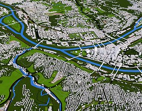 Allegheny City Of USA 3D model
