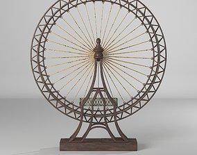 3D The Grande Exposition Ferris Wheel Decor Sculpture