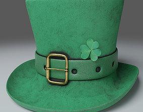VR / AR ready St Patricks Hat Photorealistic PBR - 3D