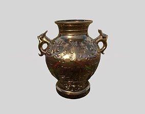 Lowpoly Ancient Vase 3D