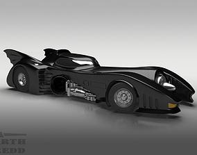 3D 1989 Batmobile Tim Burton style ver