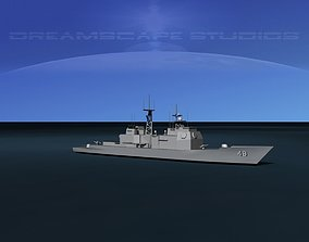 3D model USS Yorktown CG-48 LP