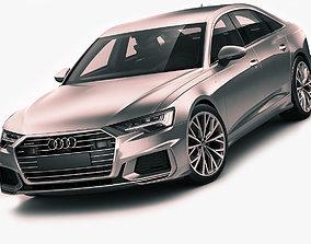 luxury 3D model Audi A6 2019 s-line