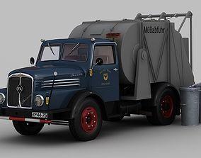 3D IFA S4000-1 Garbage Truck
