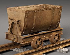 3D Mine Cart