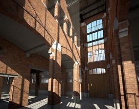 Old Factory 3D model interior