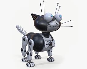 Robocat 3D asset