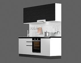 3D asset Kitchen J-prof 2250