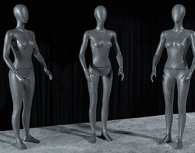 3D model Mannequin - rigged
