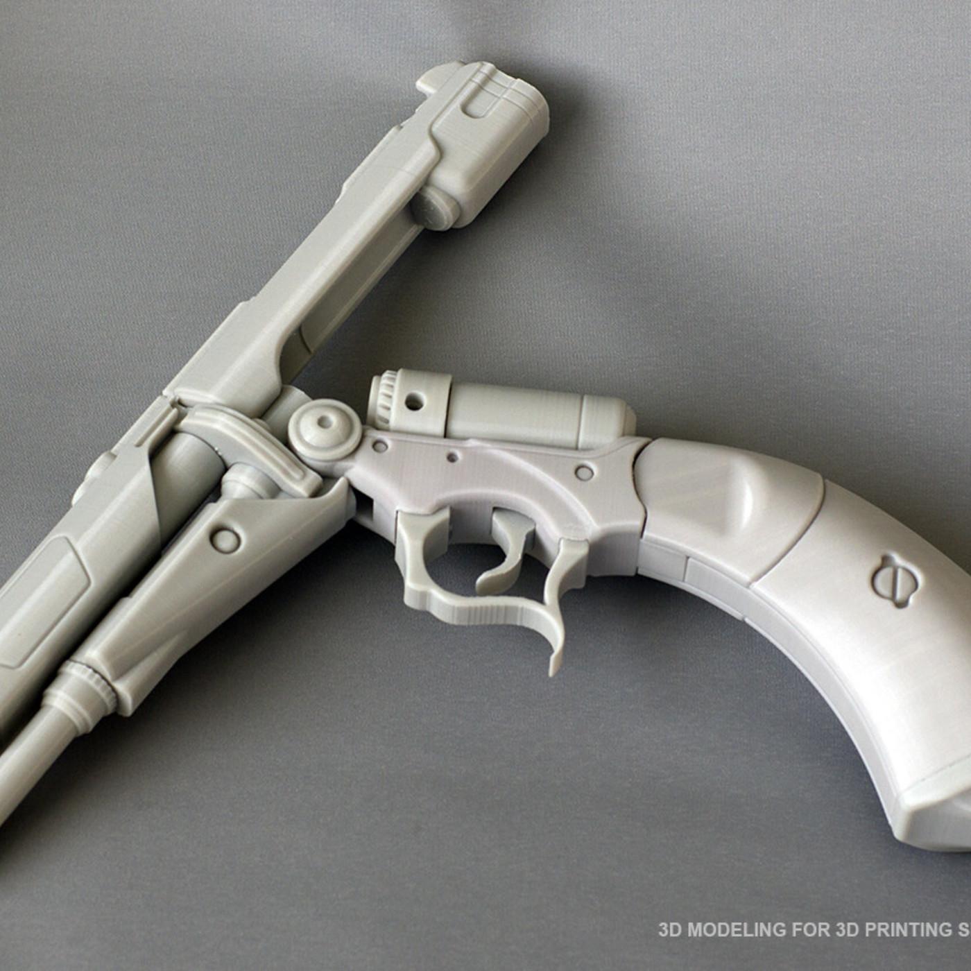 Heavy Blaster pistol