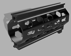 150mm Honeycomb Handguard for nerf 3D print model