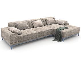 145-Sofa natuzzi borghese 2826 1 3D model