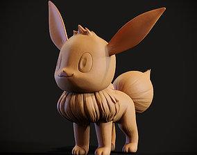 Pokemon Eevee 3d print model