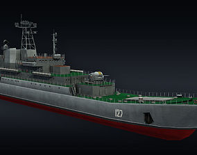 3D Landing ship LLC Minsk project 775