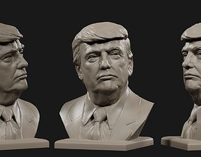 Donald Trump bust 4 3D printable model