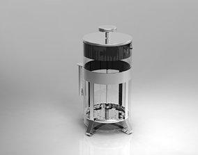 press 3D model French Press