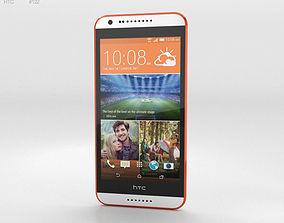 HTC Desire 620G Tangerine White 3D model