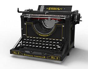 3D Antique Typewriter
